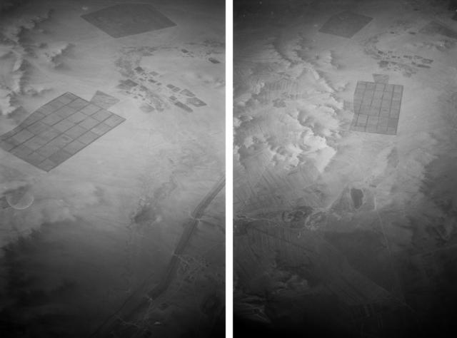 , 'Undecided Frames (désert de Gobi, 2000),' 2016, Nadja Vilenne