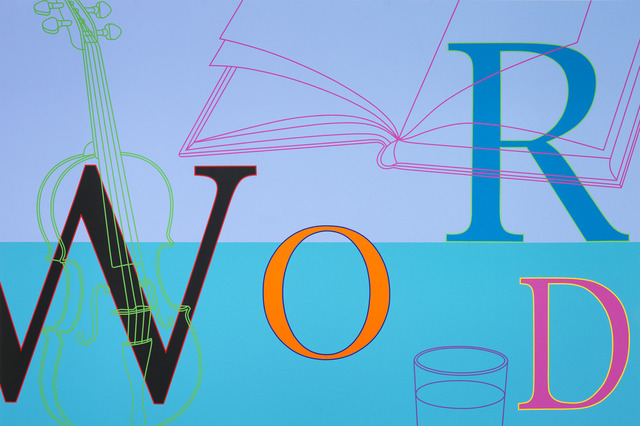 , 'Word,' 2010, Gagosian Gallery