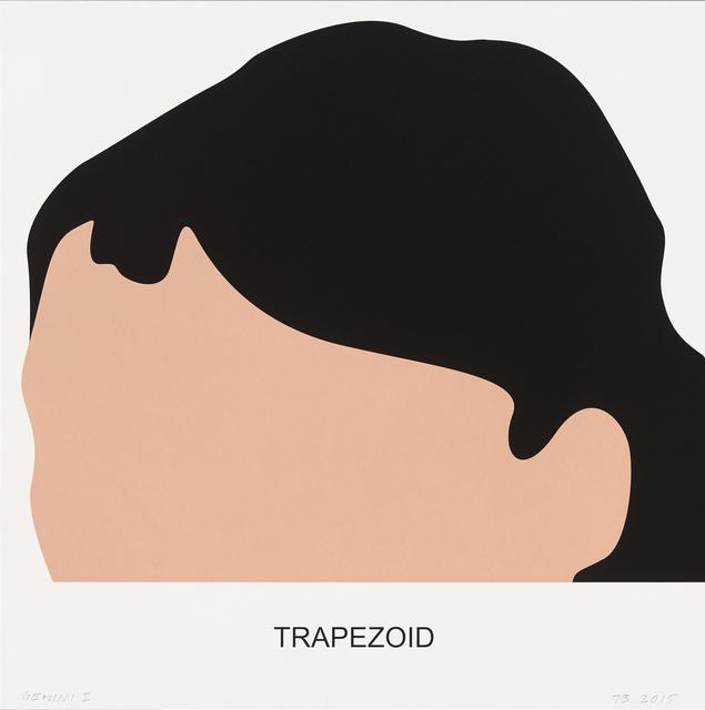John Baldessari, 'Trapezoid', 2016, Print, 3 color screenprint, Gemini G.E.L.