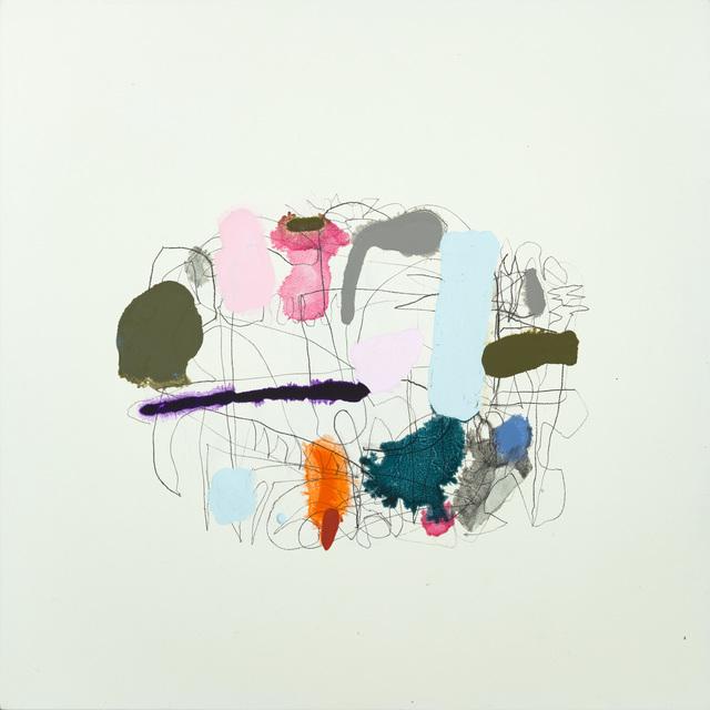 , 'Map (Carmine & Payne),' 2018, Bartley + Company Art