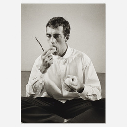 Forbidden Fruit (David Wojnarowicz Eating an Apple in an Issey Miyake shirt) from The Twelve Perfect Christmas Gifts from Dianne B. portfolio