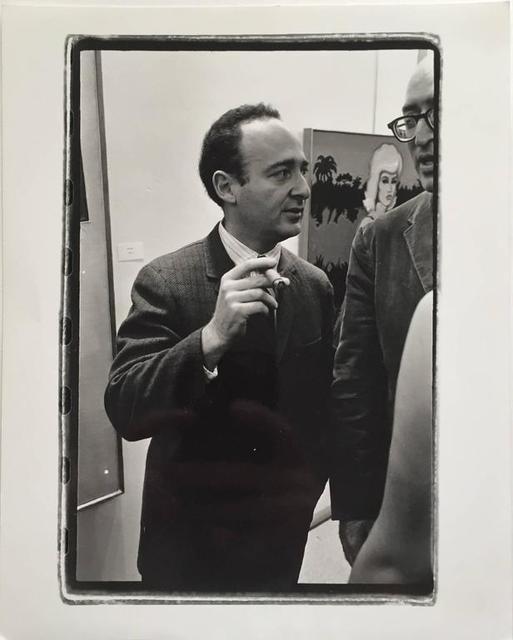 Fred W. McDarrah, 'Ivan Karp | Sherman Drexler', 20th Century, Lions Gallery