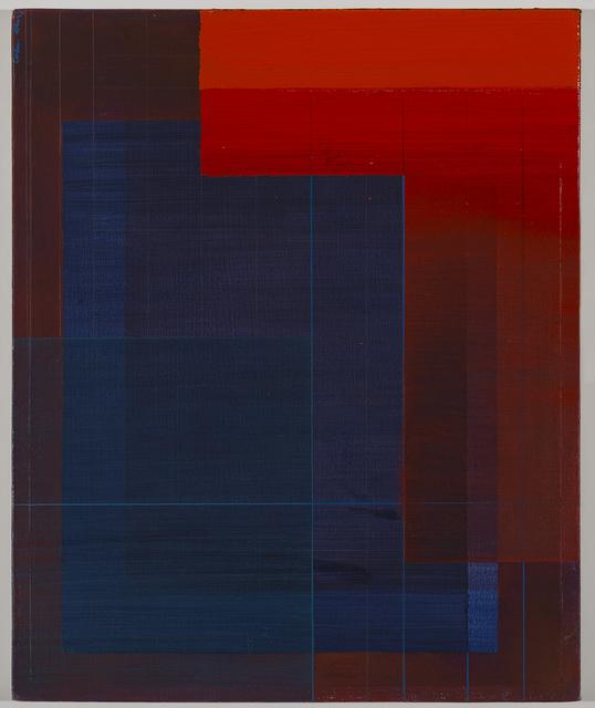 , 'Intersection (red, blue, orange) III,' 2017, Nature Morte