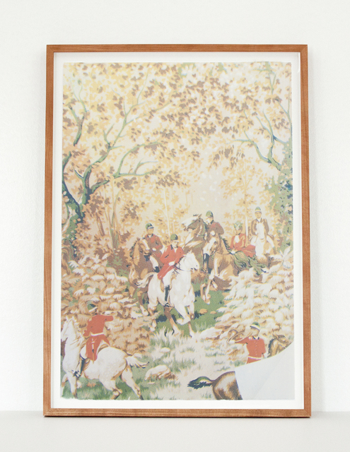 Elizabeth Corkery, 'Fox Hunt: Surface', 2015, Print Club Ltd.