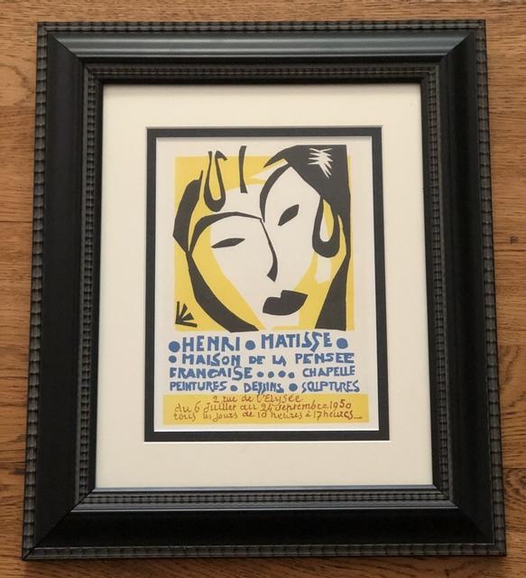 Henri Matisse, 'Maison de la Pensee Francaise Poster', 1959, Leviton Fine Art