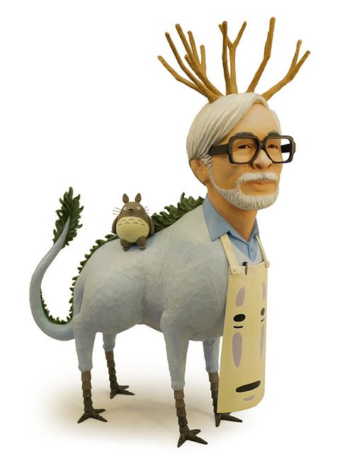 , 'Hayao Miyazaki,' 2016, Jonathan LeVine Projects