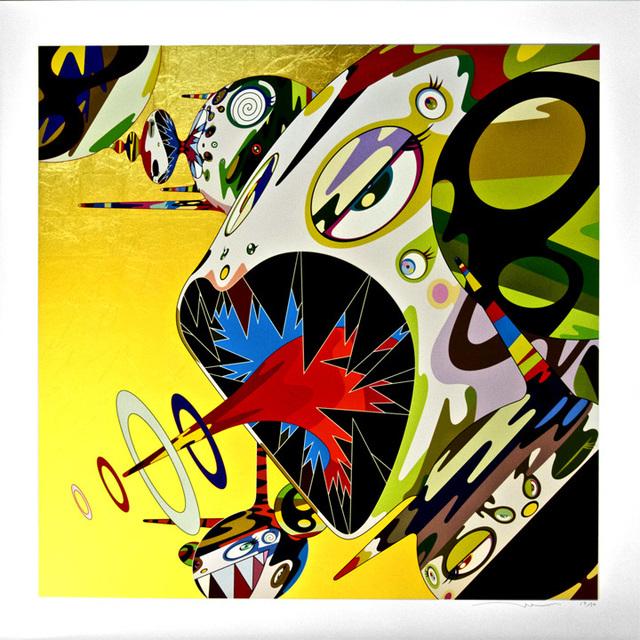 Takashi Murakami, 'Homage to Francis Bacon - Study of Isabel Rawsthorne', 2011, Pop Fine Art