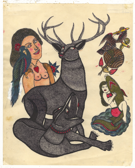 , 'Untitled (Stag Dog),' ca. 1950, Ricco/Maresca Gallery