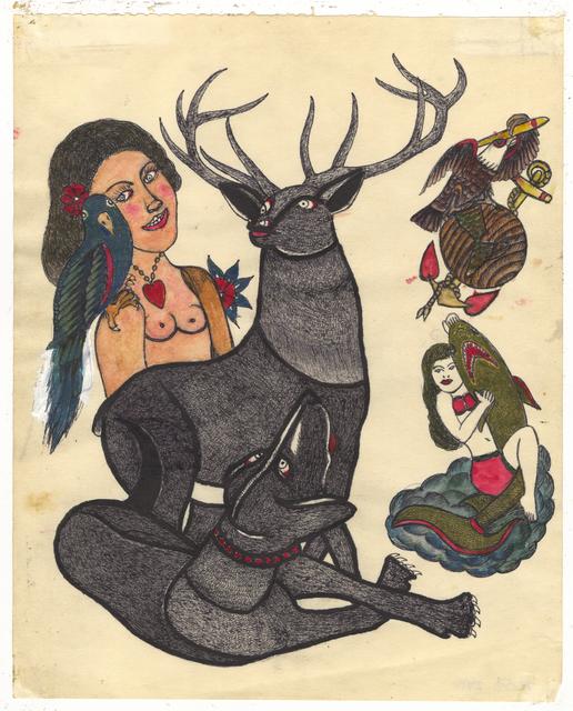 , 'Untitled (Stag Dog),' ca. 1950, Ricco/Maresca Gallery