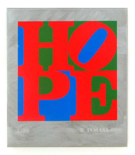 , 'HOPE Red Green Blue,' 2009, Woodward Gallery