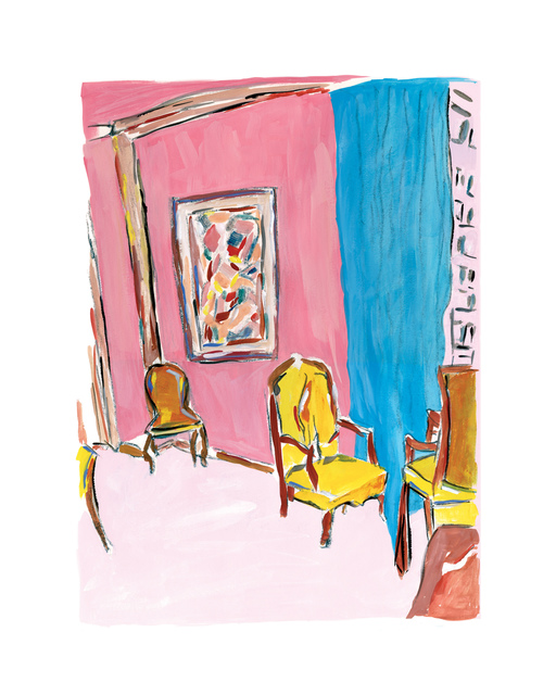 Bob Dylan, 'Three Chairs - 2011', 2011, Castle Fine Art