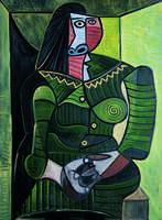 Pablo Picasso, Femme en vert (Dora) (Woman in Green, Dora)