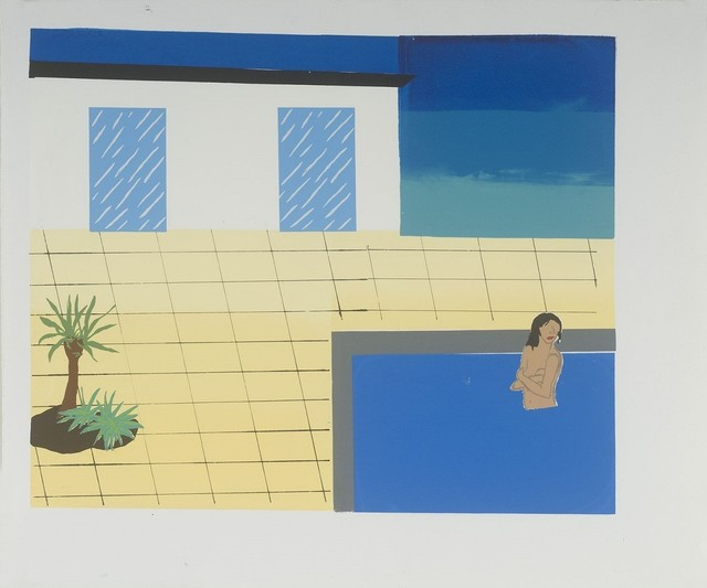 , 'CA Pool 1,' 2008, Childs Gallery