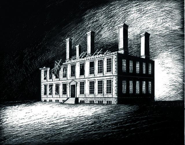 , 'The ruins of Coleshill House,' 2017, John Martin Gallery