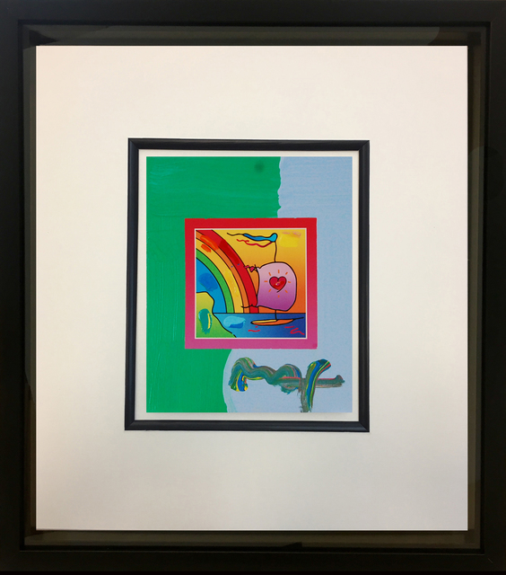 Peter Max, 'Sailboat with Heart on Blends 2007 #812', 2007, Baterbys Art Gallery