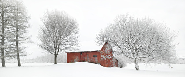 , 'Charlotte Barn - Winterscape 1,' 2017, West Branch Gallery