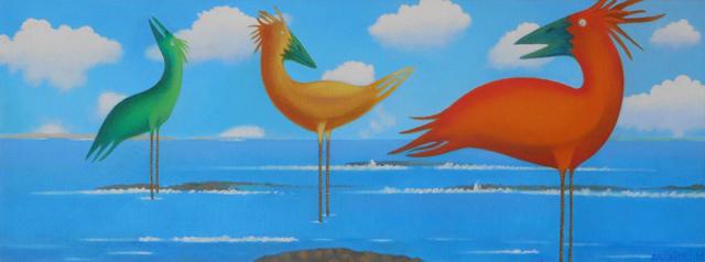 , 'Muscongus Bay 2075,' 2014, Gallery NAGA