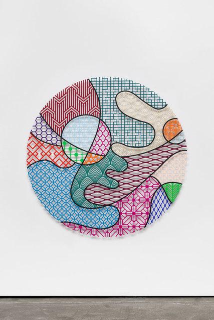 , 'Pattern Kinship, river,' 2019, Wentrup