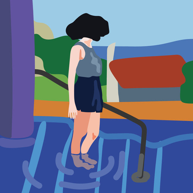 , 'Jackie in Pool 4,' 2018, Contemporary Collective Gallery