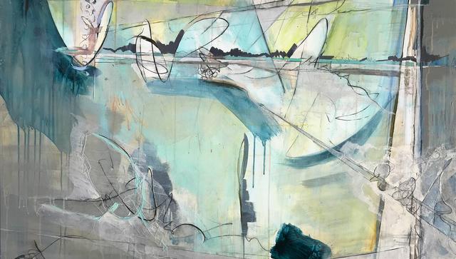 , 'Aqua Sonnet,' 2016, Walter Wickiser Gallery