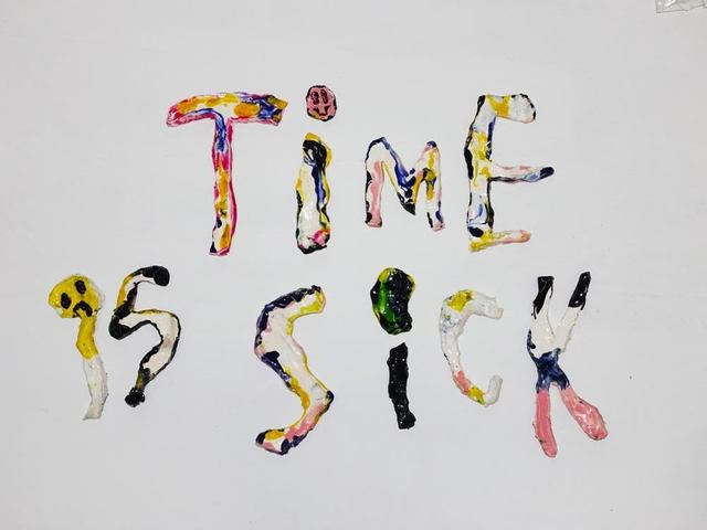 , 'El Temps Es Boig (Time is Sick),' 2016, SADE