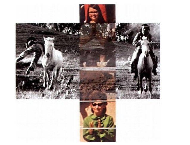 , 'Intersection Series: Person on Horse, and Person Falling From Horse, Audience Watching,' , Sylvia White Gallery