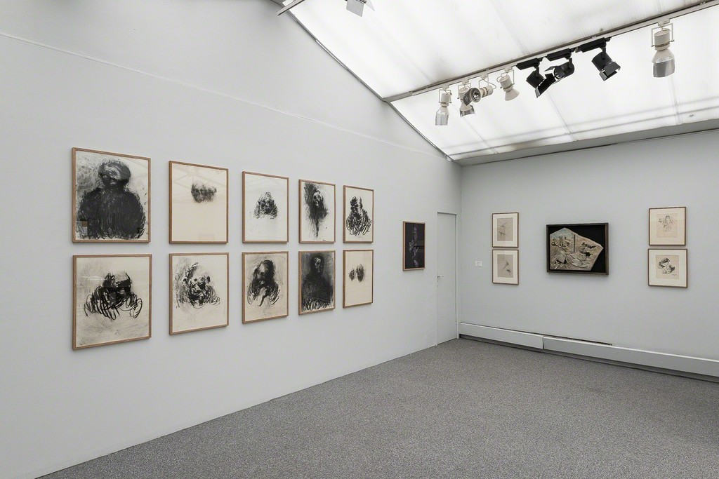 "View of ""Drawings by sculptors""