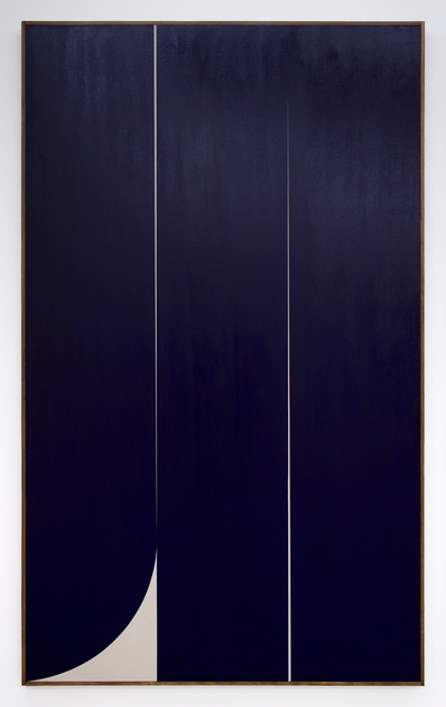 , 'Untitled (blue 1),' 2019, Romer Young Gallery
