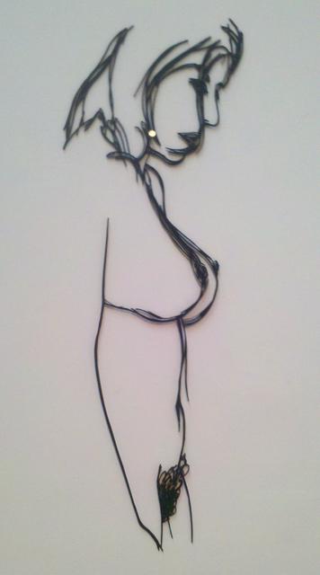 , 'Standing Nude (Steel Drawing),' 1985, Chowaiki & Co.
