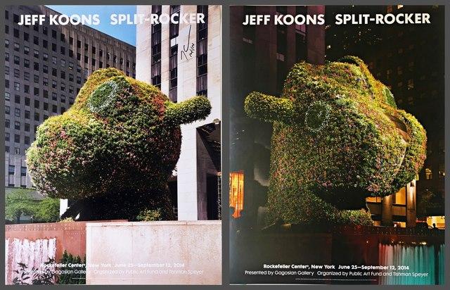 Jeff Koons, 'Split - Rocker (Hand Signed)', 2014, Alpha 137 Gallery
