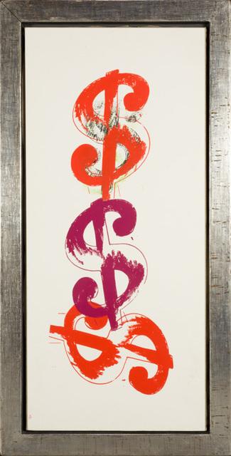 Andy Warhol, '$ Triple ', 1982, Rudolf Budja Gallery