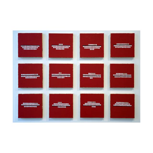 , 'under/over,' 2015, Jen Mauldin Gallery