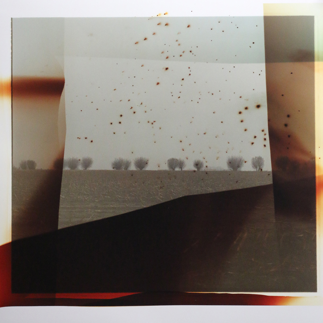 , 'Flanders Landscape (front line with red blast),' 2014, Newzones