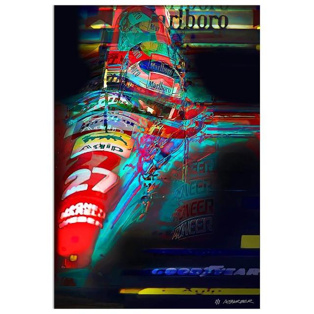 , 'Jean Alesi - Ferrari Formula 1 | Automotive | Car,' 2019, Whyte Fine Art