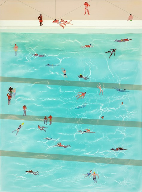 , 'Tiny Pool ,' 2015, Aki Gallery