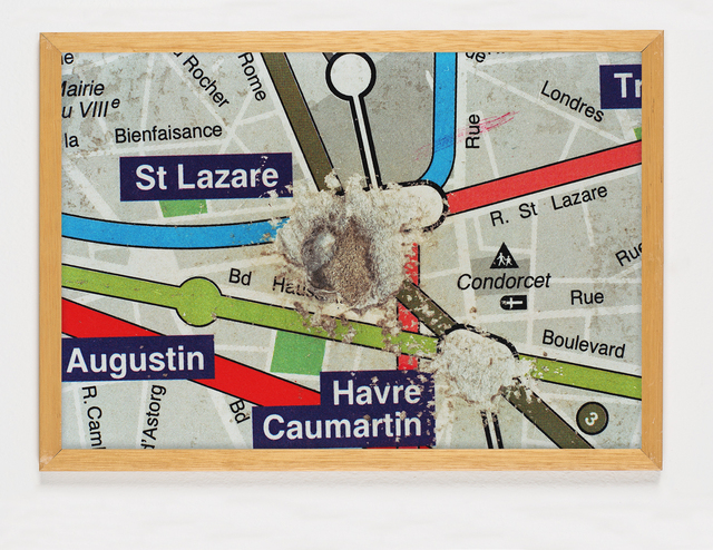 , 'La disparition, dettaglio St. Lazare,' 1994-1995, Galleria Bianconi