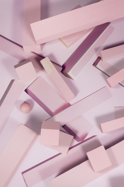 , 'Depth Study 7 (Pink),' 2016, Winsor Gallery