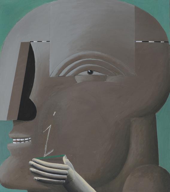 , 'Grauer Kopf I,' , Galerie Schwarzer