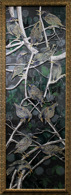 , 'Starlings I,' 2018, LeMieux Galleries