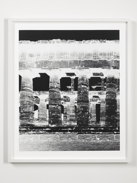 , 'Temple of Nettuno, Paestum, October 22,' 2015, Alfonso Artiaco