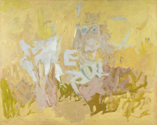 , 'Chinese Words,' 1954, Berry Campbell Gallery