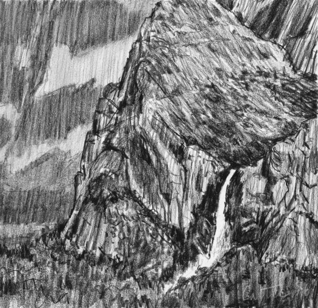 Glenn Carter, 'Afternoon at Bridalveil Falls', 2018, Dab Art