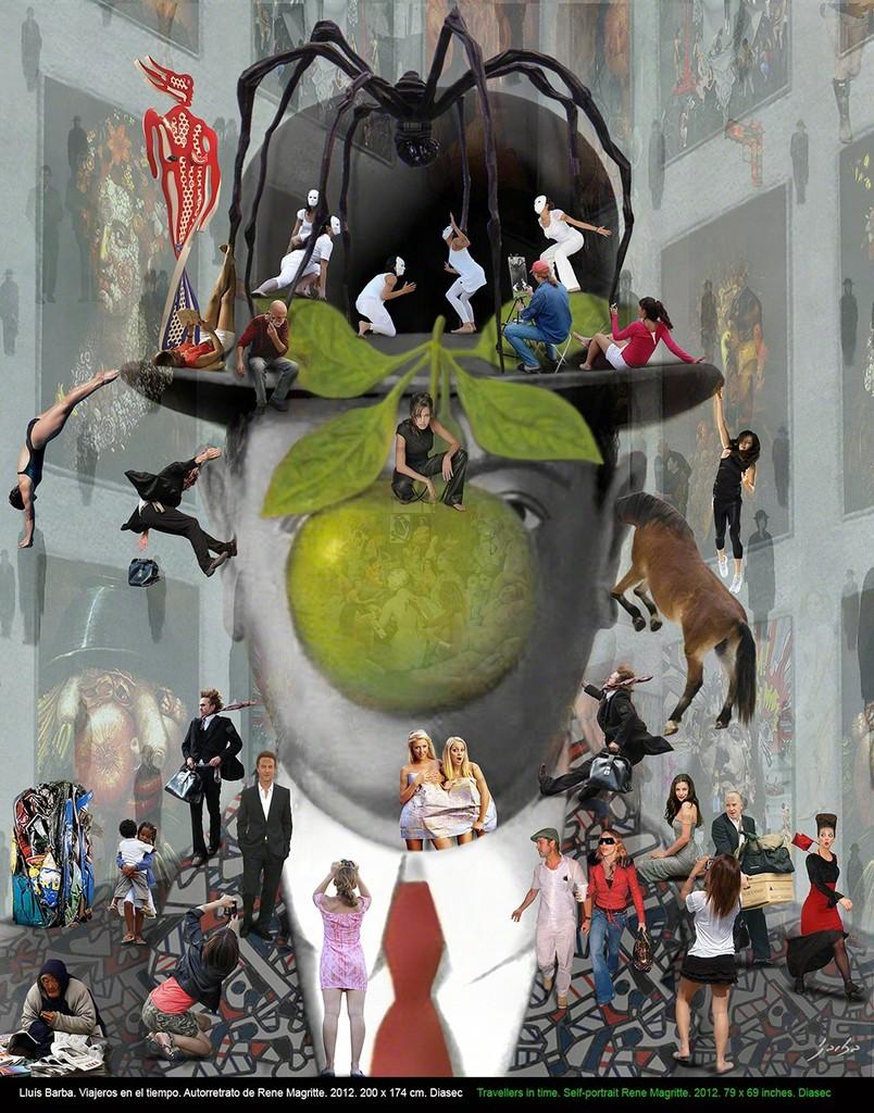 Lluis Barba René Magritte 2012 Available For Sale