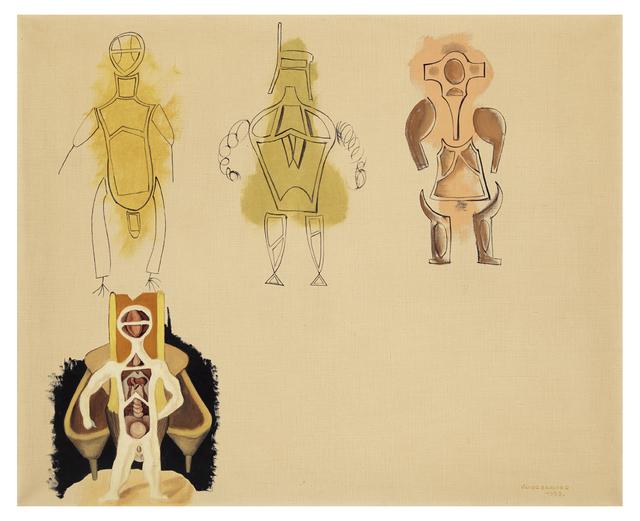 Victor Brauner, 'Racines Eblouissantes', 1933, Gallery Sofie Van de Velde
