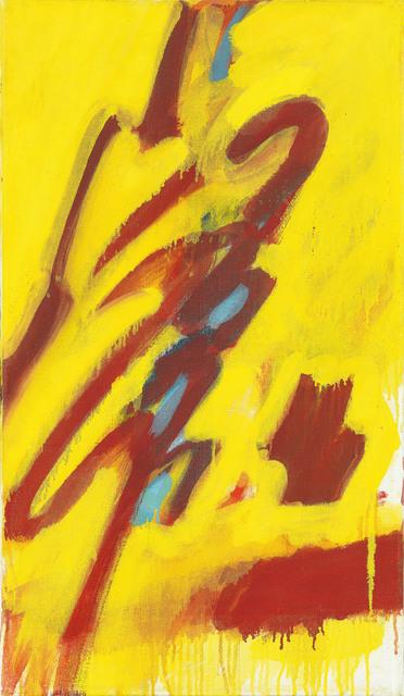 , 'Figur auf gelbem Grund,' 1959, Galerie Kovacek & Zetter