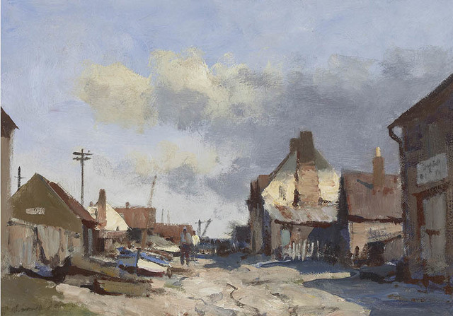, 'Suffolk Village,' , Portland Gallery