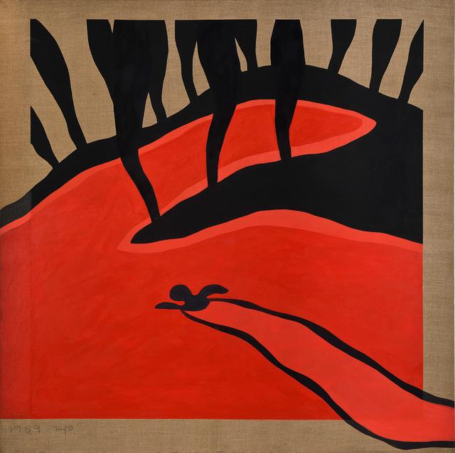 , 'Swimming,' 1989, Gana Art