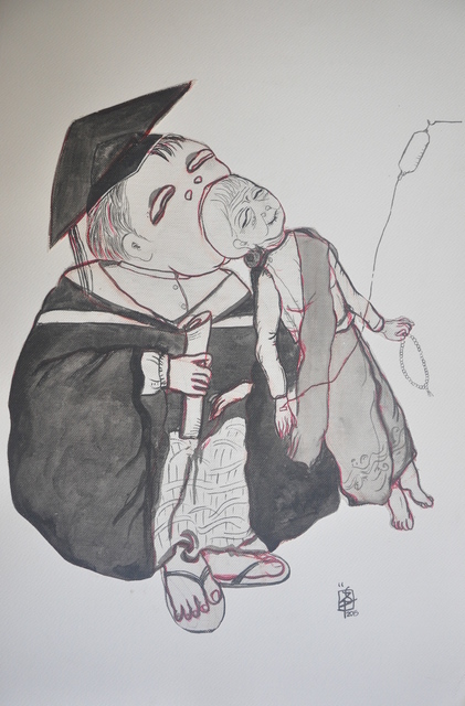, 'The Graduate ,' 2015, Intersections Gallery Myanmar & Singapore