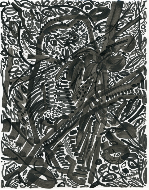 Gwangsoo Park, 'The Owl's Tree', 2018, Hakgojae Gallery