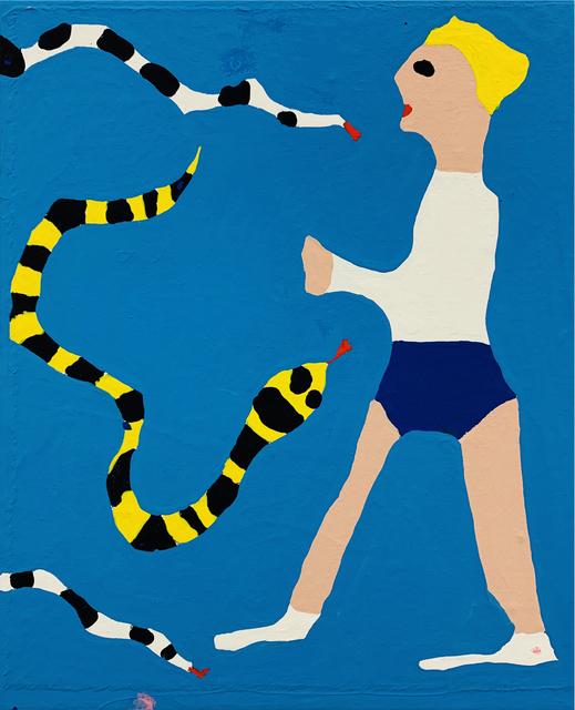 , '3 Snakes 1 Man,' 2018, V1 Gallery